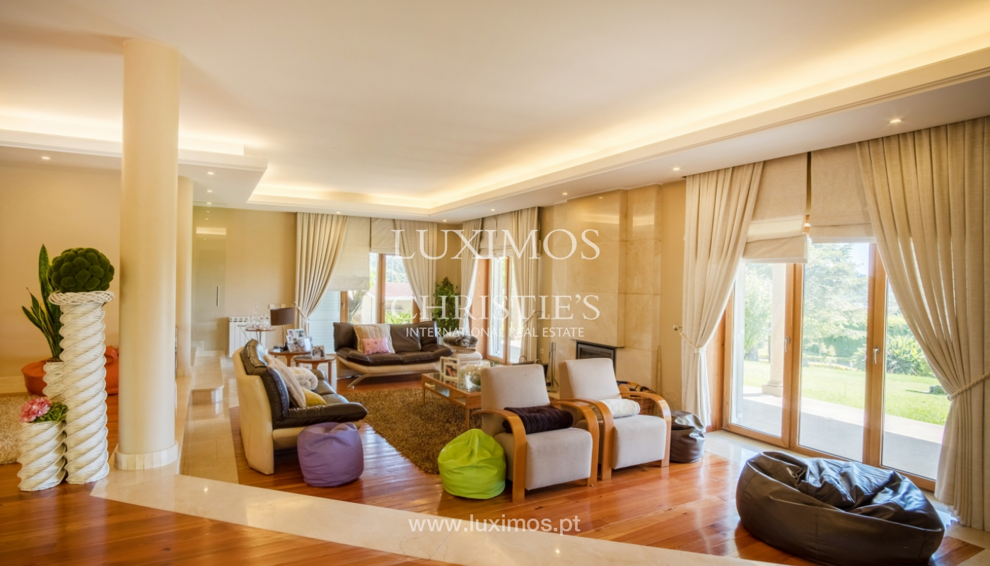 Luxury villa for sale w/ pool and playground, Póvoa Varzim, Portugal_117439