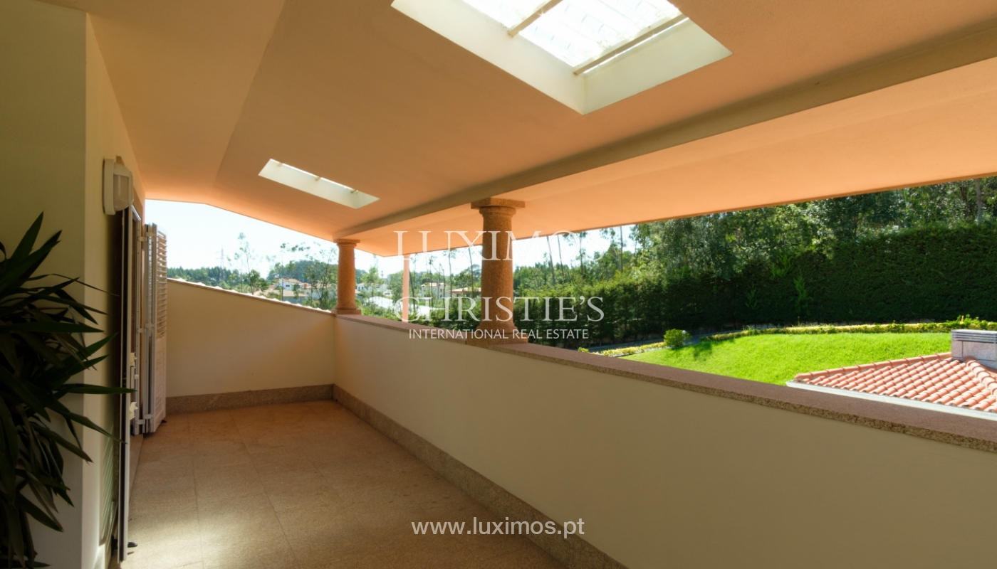 Luxuriöse Villa zu verkaufen mit Pool und Spielplatz, Póvoa Varzim, Portugal_117460