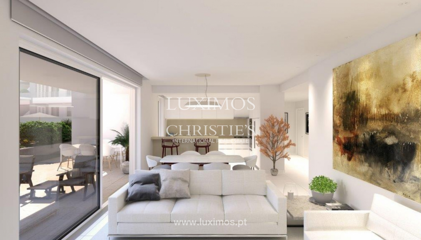 Venta de apartamento moderno con vista mar en Lagos, Algarve, Portugal_117551