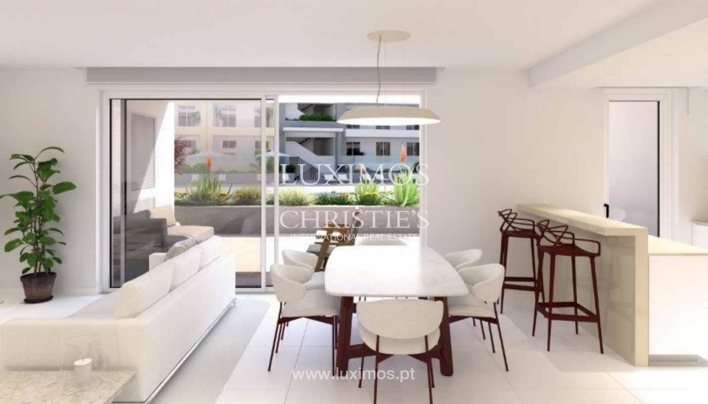 Sale of modern new apartment with sea view in Lagos, Algarve, Portugal_117612