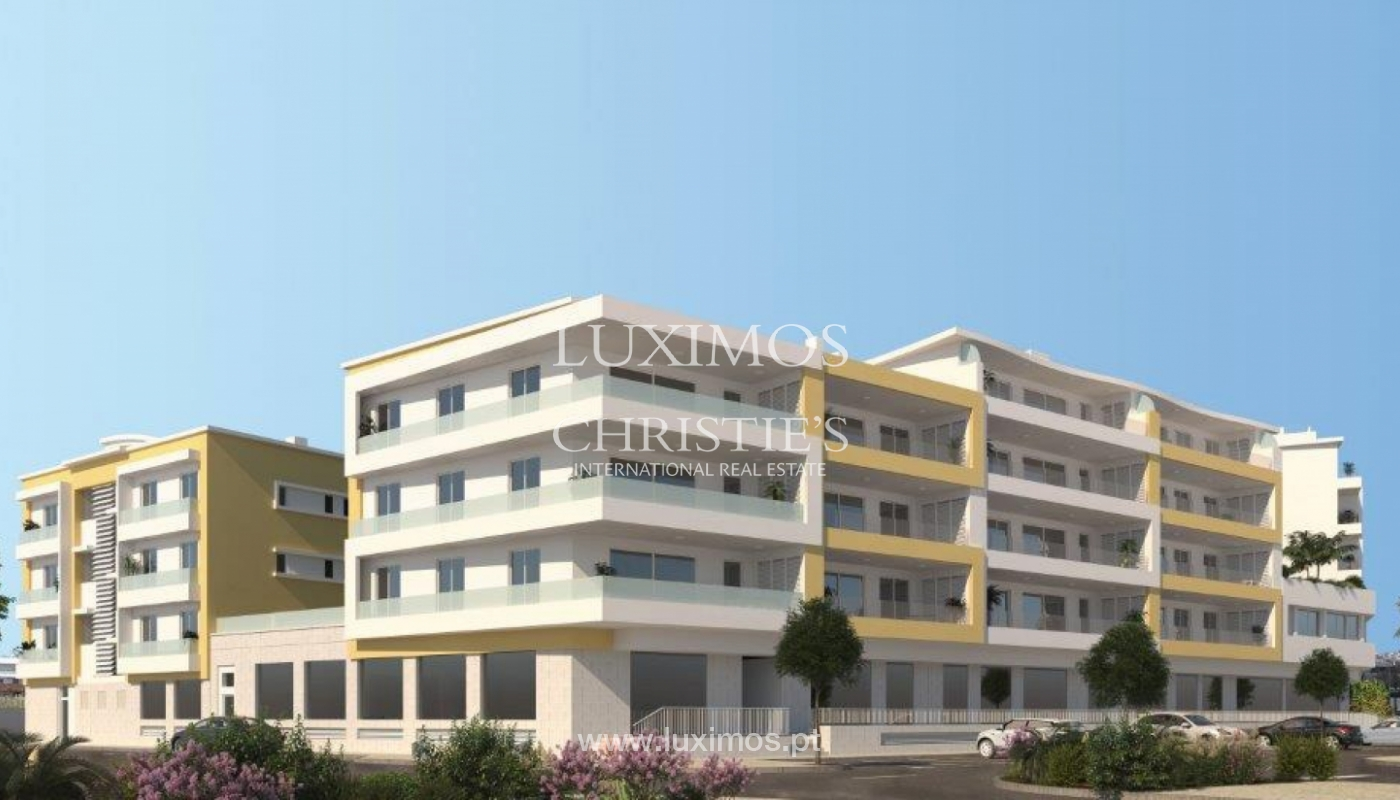 Sale of modern new apartment with sea view in Lagos, Algarve, Portugal_117617