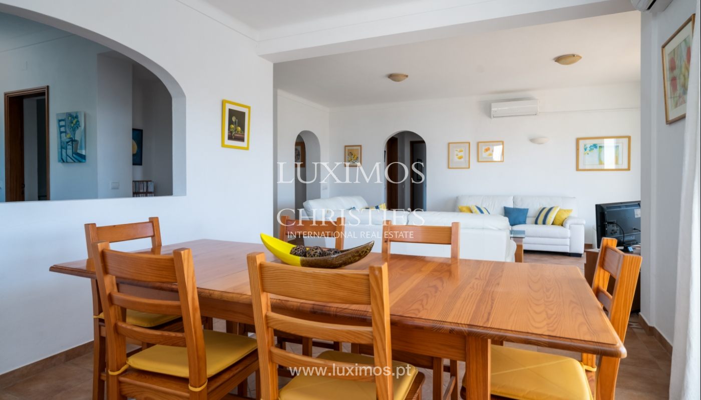 Sale of villa with pool and sea view in Albufeira, Algarve, Portugal_117652