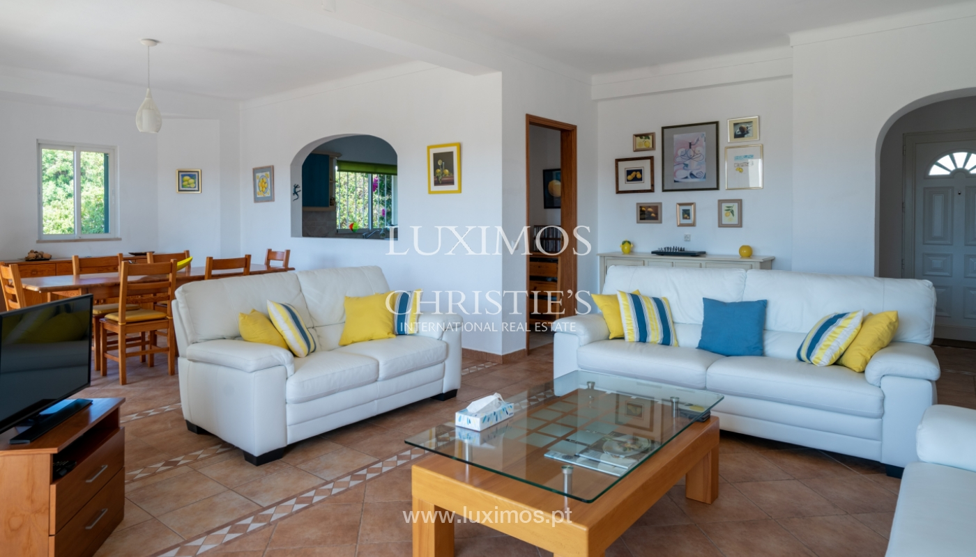 Sale of villa with pool and sea view in Albufeira, Algarve, Portugal_117653