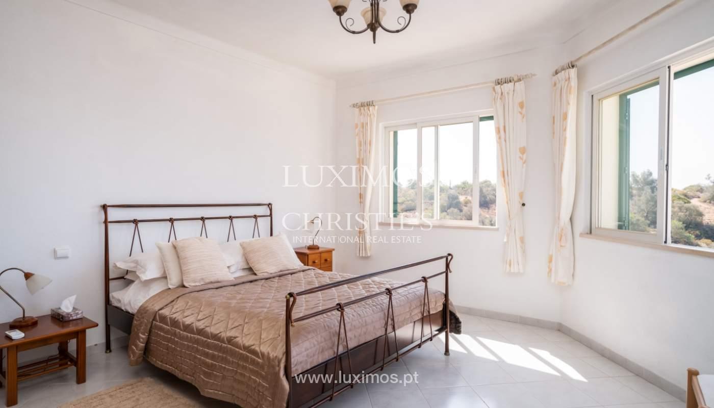 Venta de chalet con piscina y vista mar, Albufeira, Algarve, Portugal_117656
