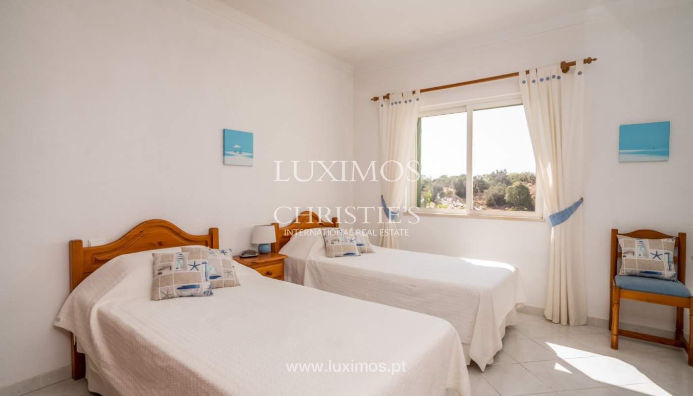 Venta de chalet con piscina y vista mar, Albufeira, Algarve, Portugal_117659