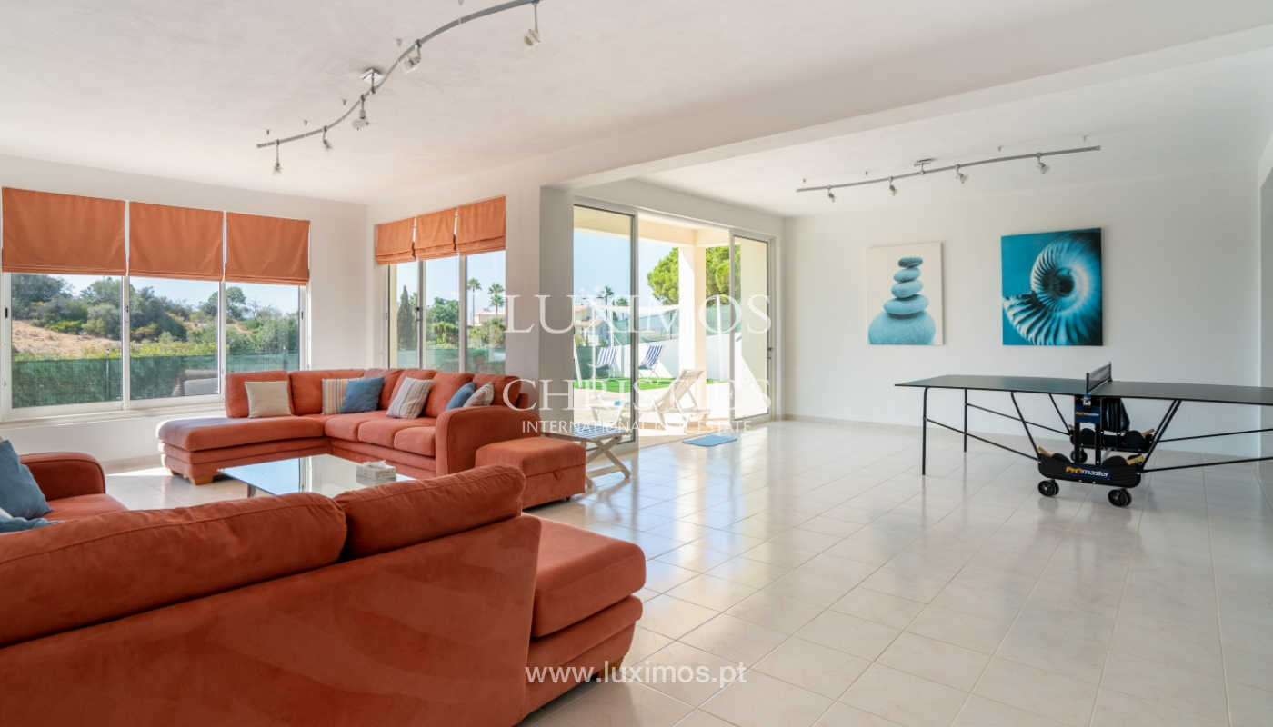 Sale of villa with pool and sea view in Albufeira, Algarve, Portugal_117664