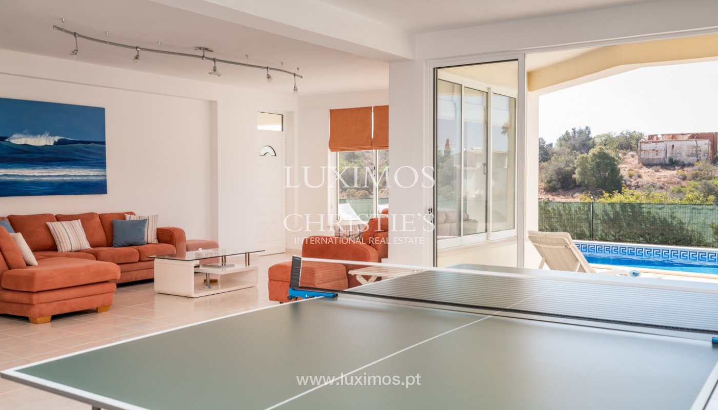 Sale of villa with pool and sea view in Albufeira, Algarve, Portugal_117667