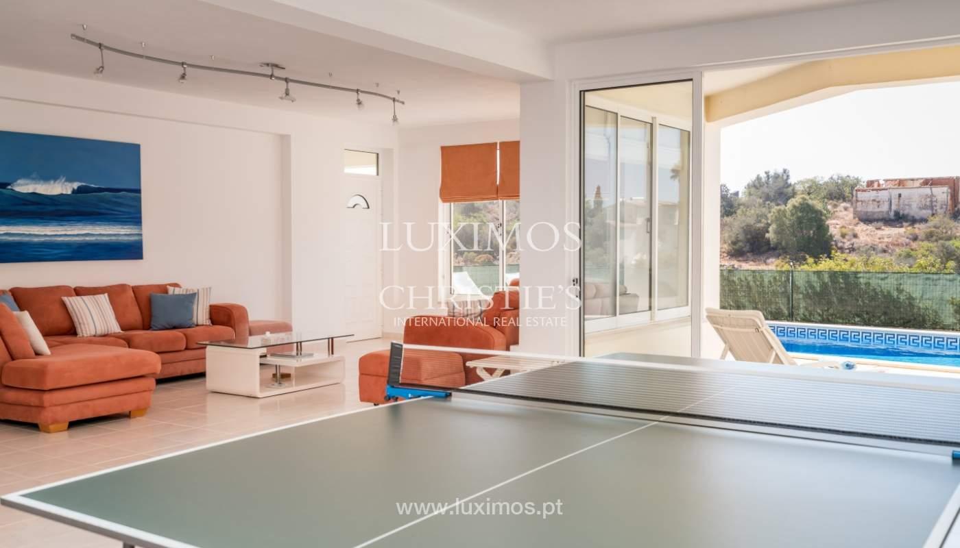Venta de chalet con piscina y vista mar, Albufeira, Algarve, Portugal_117667
