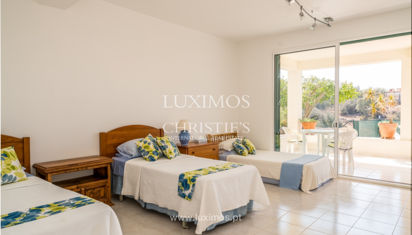 Sale of villa with pool and sea view in Albufeira, Algarve, Portugal_117669