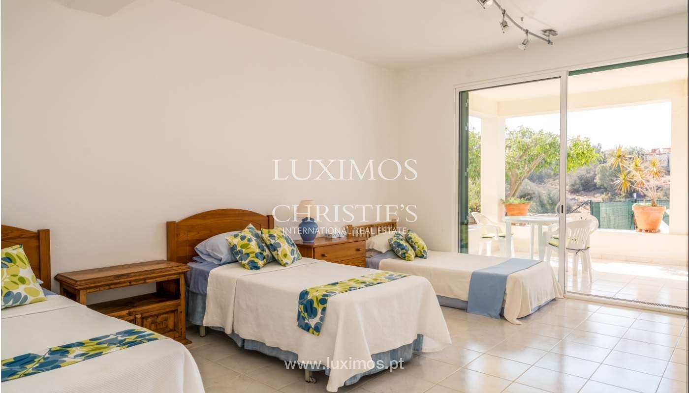 Venta de chalet con piscina y vista mar, Albufeira, Algarve, Portugal_117669