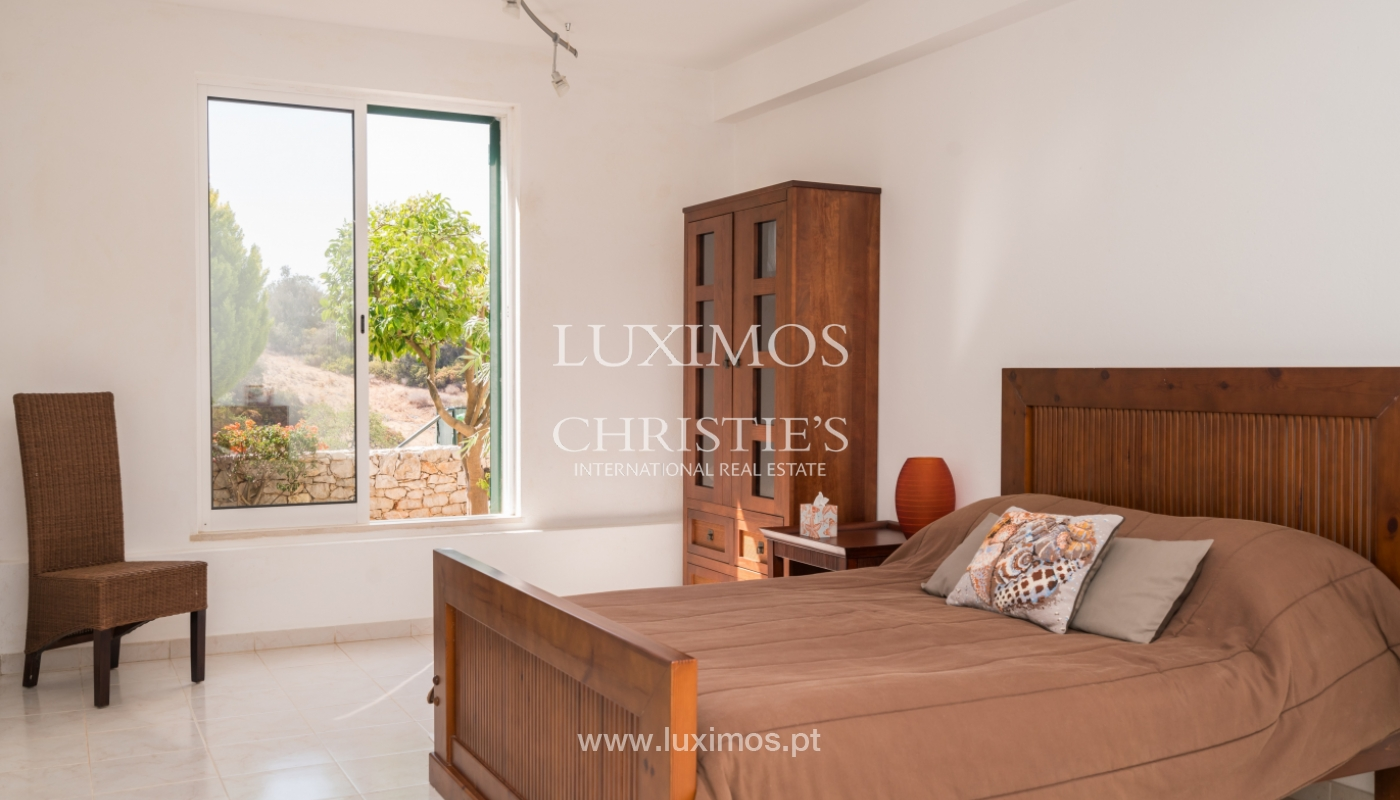 Sale of villa with pool and sea view in Albufeira, Algarve, Portugal_117671