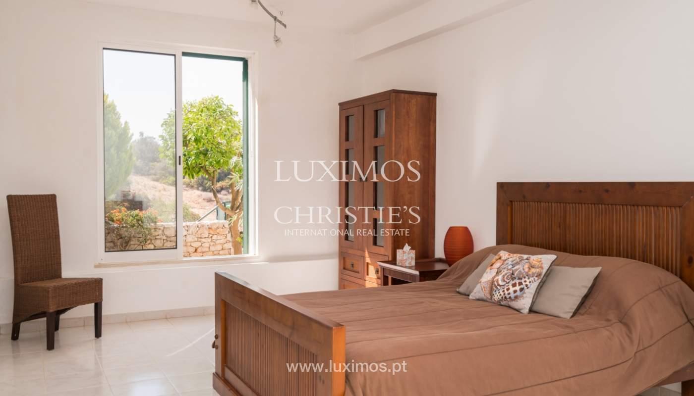 Venta de chalet con piscina y vista mar, Albufeira, Algarve, Portugal_117671