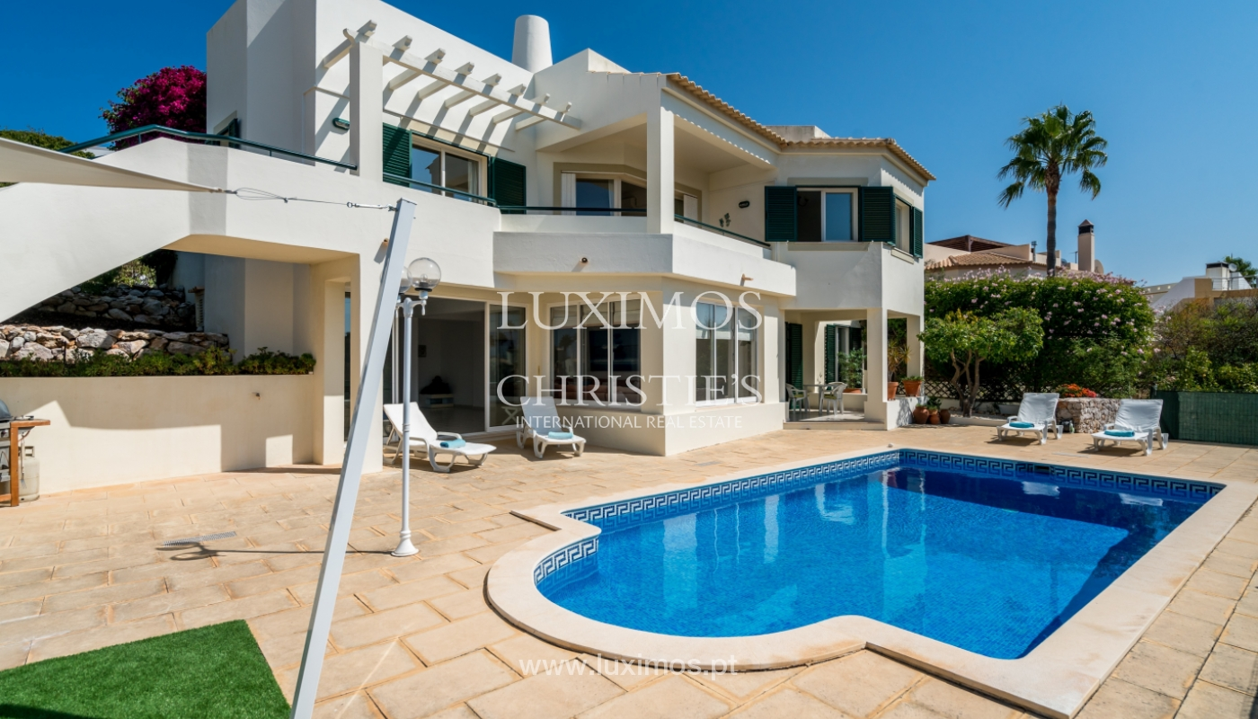 Sale of villa with pool and sea view in Albufeira, Algarve, Portugal_117676