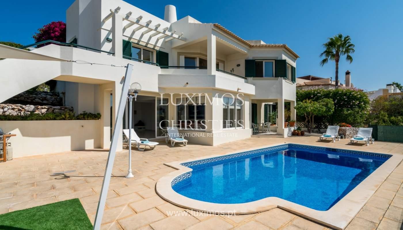 Venta de chalet con piscina y vista mar, Albufeira, Algarve, Portugal_117676