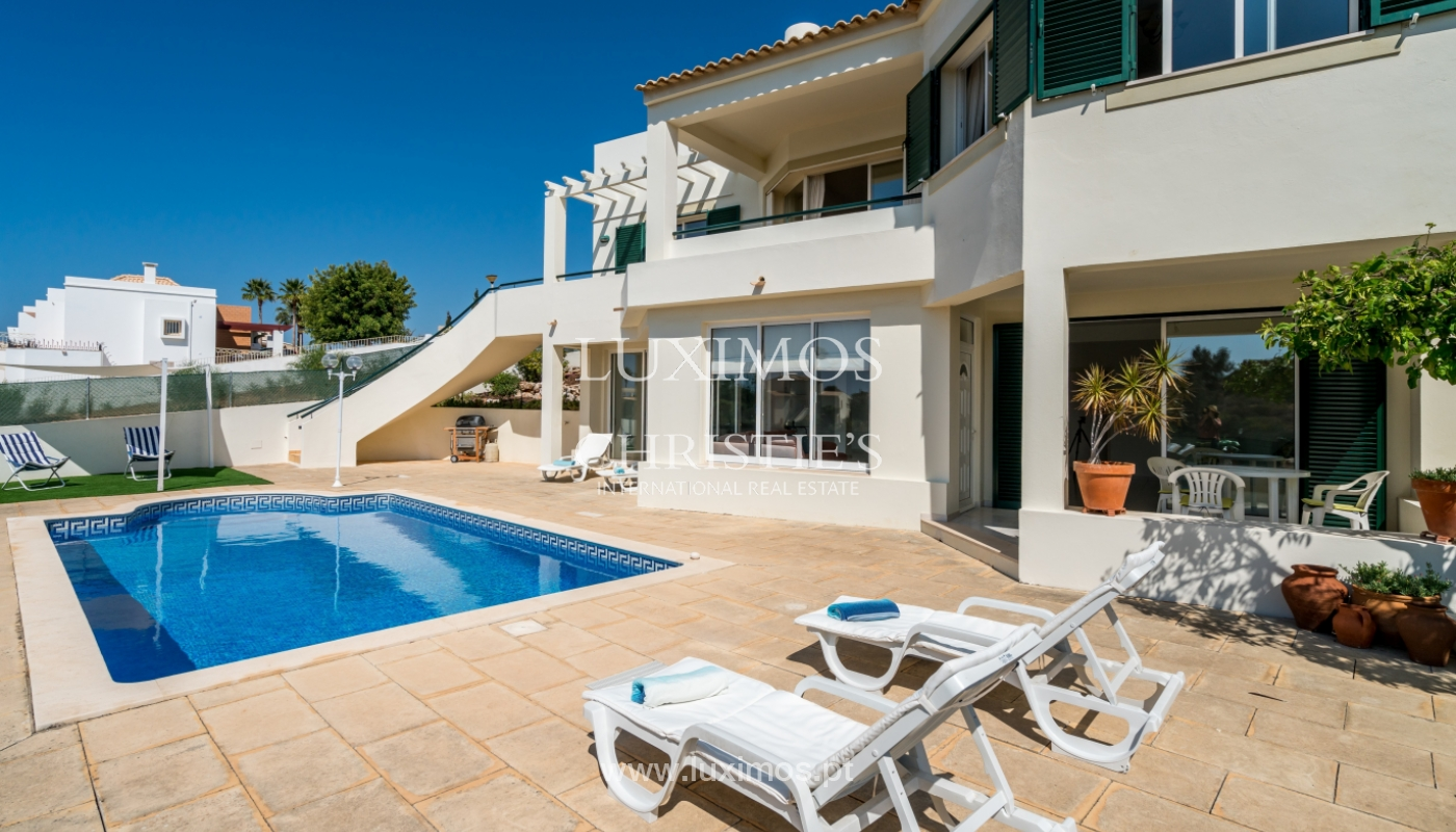 Sale of villa with pool and sea view in Albufeira, Algarve, Portugal_117679
