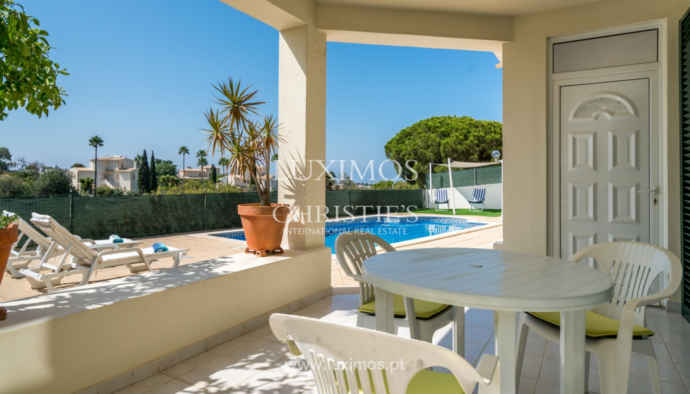Sale of villa with pool and sea view in Albufeira, Algarve, Portugal_117684