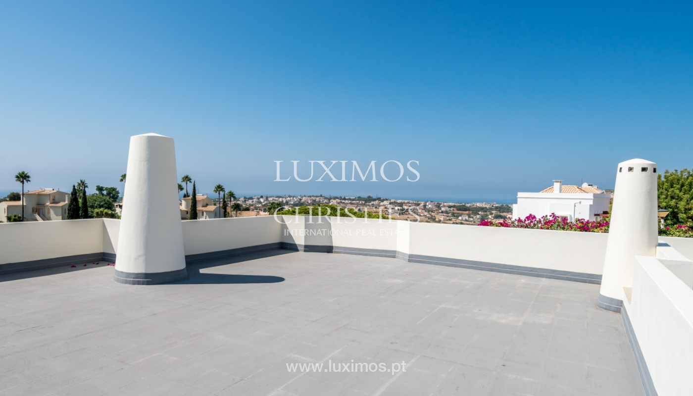 Sale of villa with pool and sea view in Albufeira, Algarve, Portugal_117690