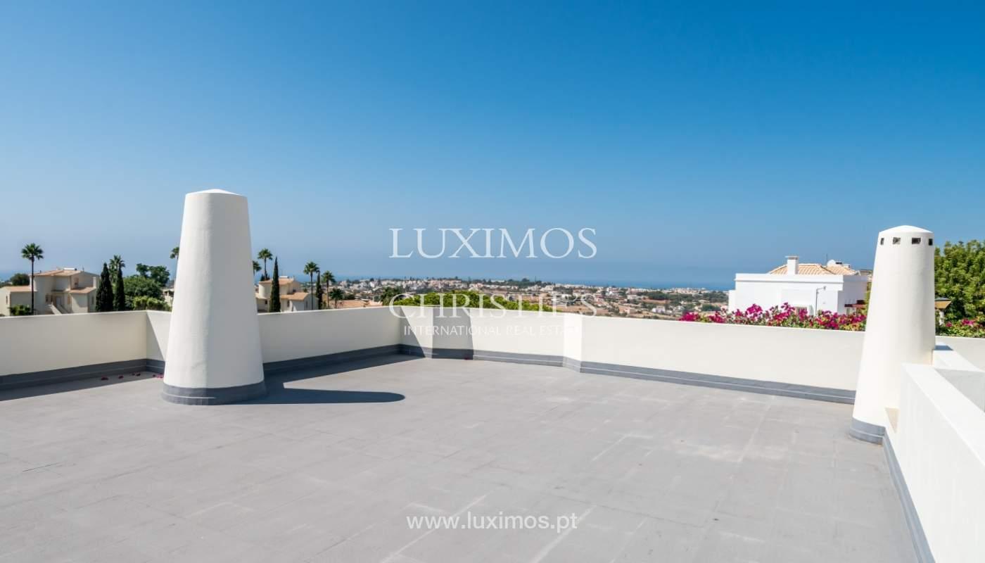 Venta de chalet con piscina y vista mar, Albufeira, Algarve, Portugal_117690