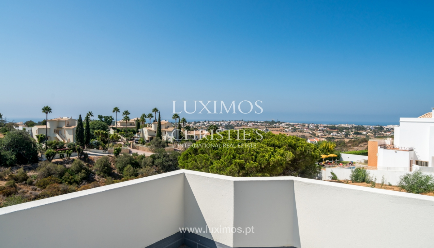 Sale of villa with pool and sea view in Albufeira, Algarve, Portugal_117691
