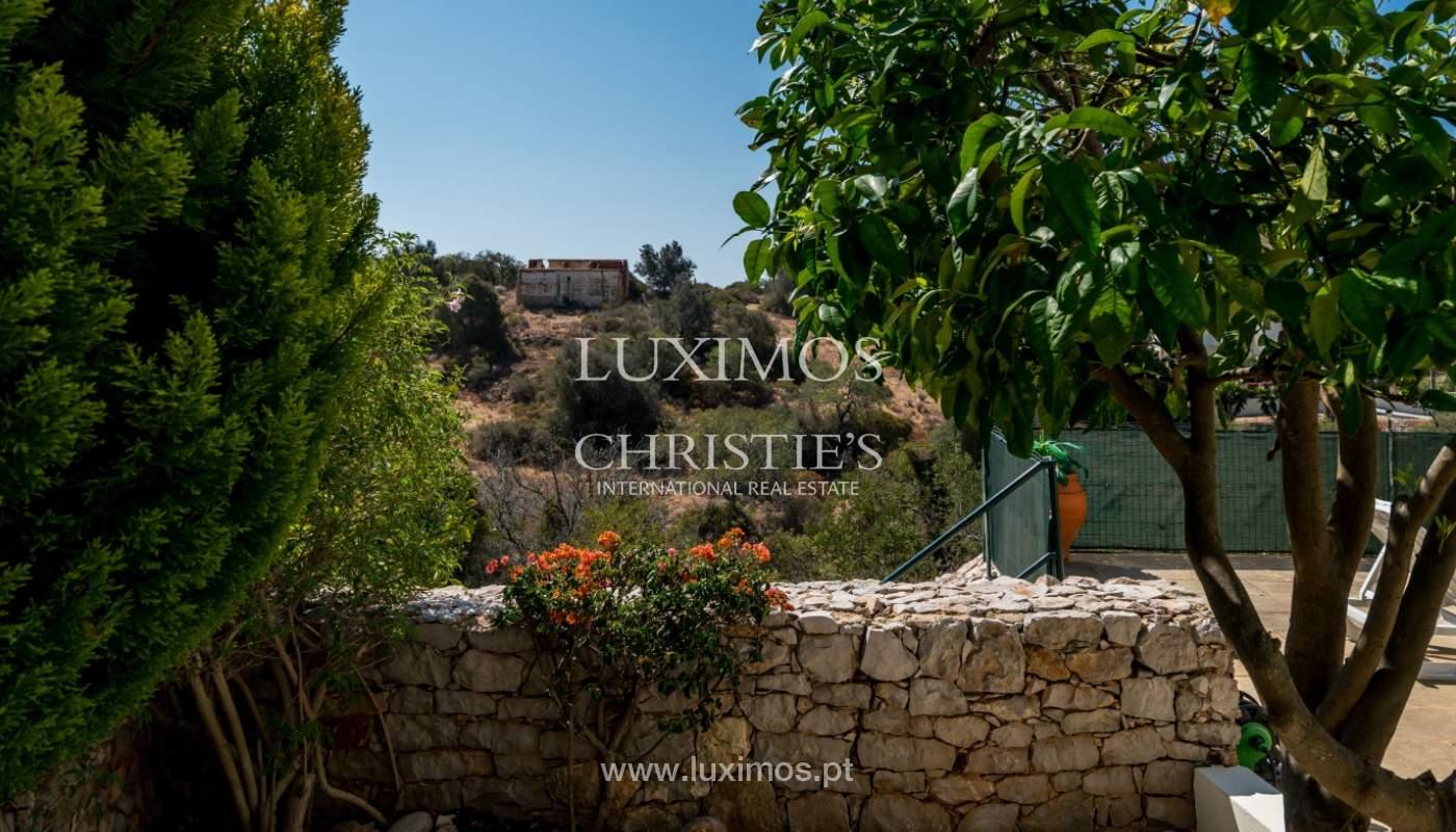 Venta de chalet con piscina y vista mar, Albufeira, Algarve, Portugal_117696