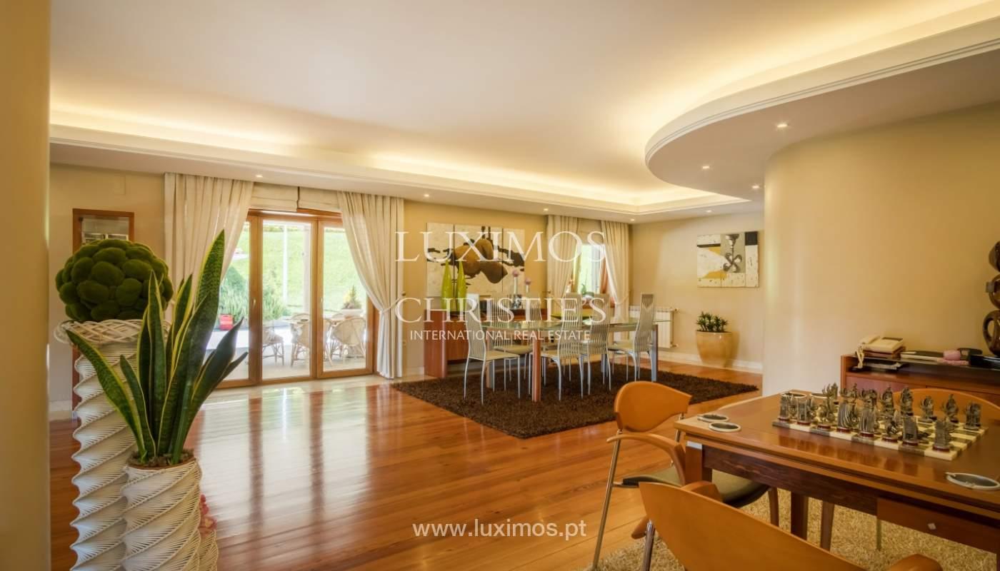 Luxuriöse Villa zu verkaufen mit Pool und Spielplatz, Póvoa Varzim, Portugal_117838