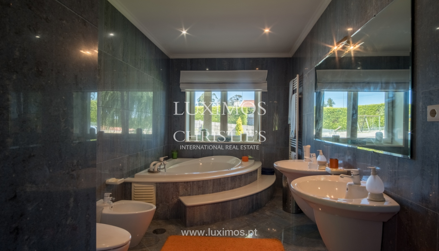 Luxuriöse Villa zu verkaufen mit Pool und Spielplatz, Póvoa Varzim, Portugal_117839