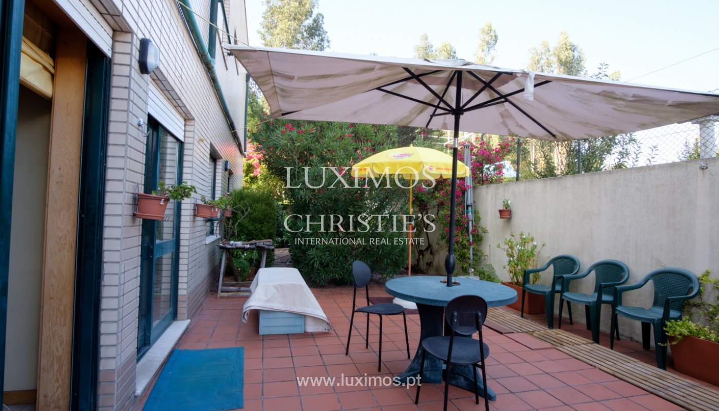 Venda de apartamento com terraço e jardim, Vila Nova de Gaia, Portugal_118095
