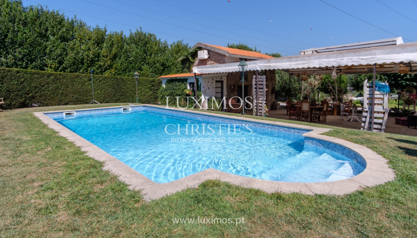 Sale of 18th century villa with garden and pool, Penafiel, Portugal_118414