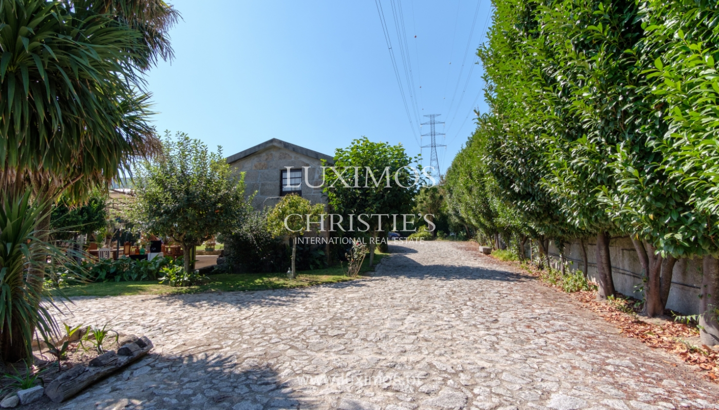 Sale of 18th century villa with garden and pool, Penafiel, Portugal_118417