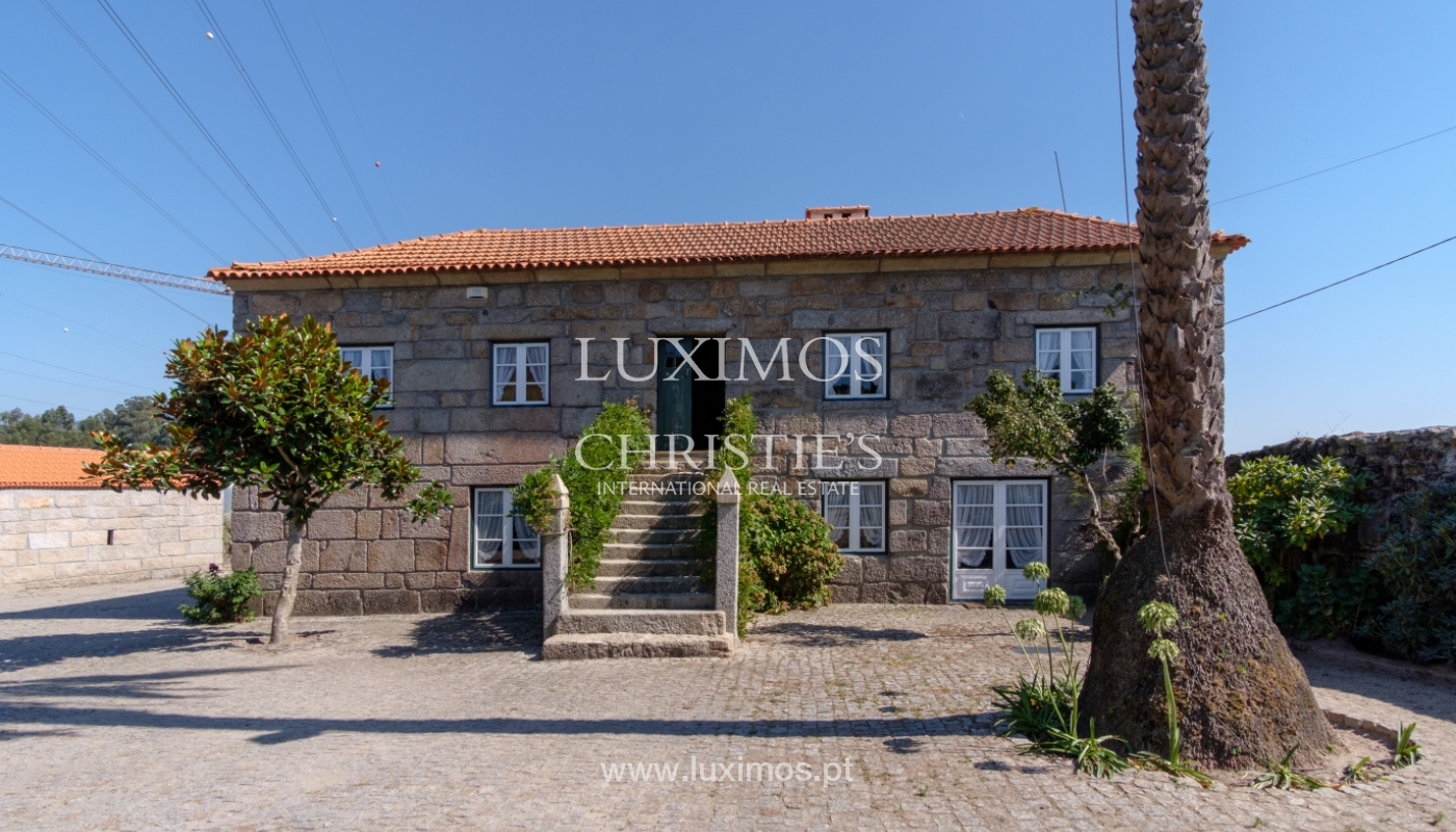 Sale of 18th century villa with garden and pool, Penafiel, Portugal_118421