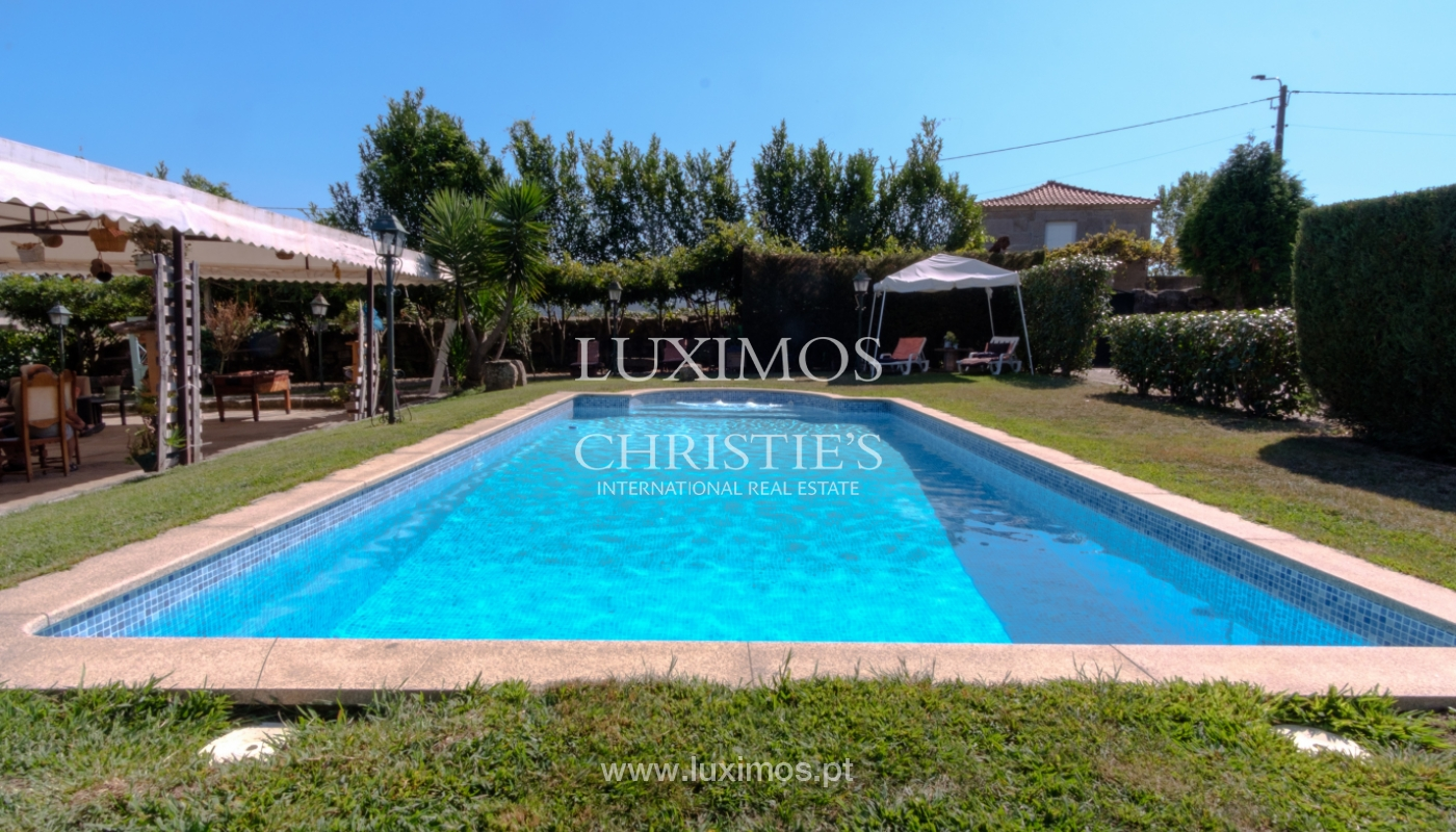 Sale of 18th century villa with garden and pool, Penafiel, Portugal_118423