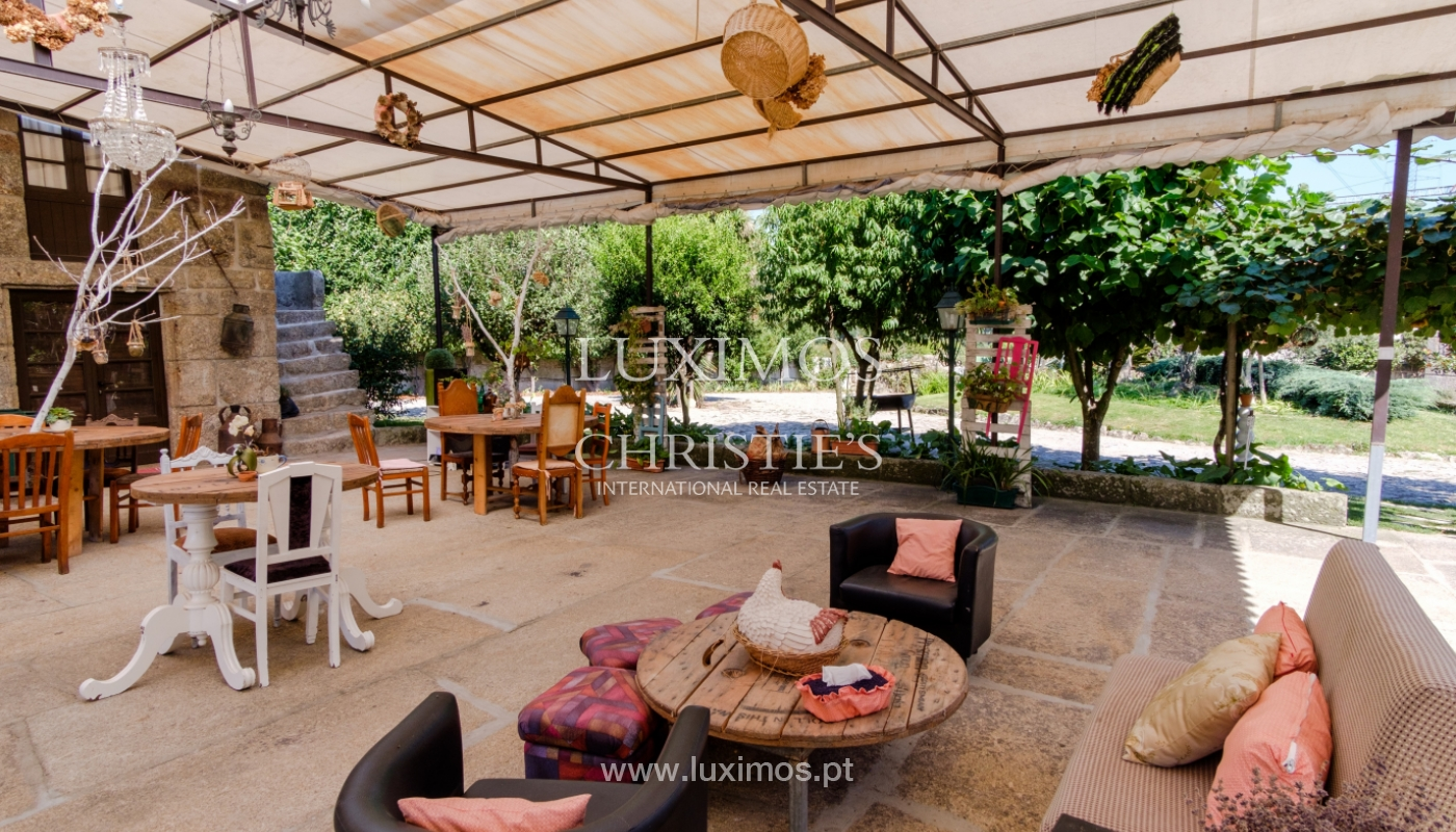 Sale of 18th century villa with garden and pool, Penafiel, Portugal_118426