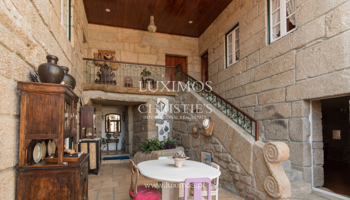 Sale of 18th century villa with garden and pool, Penafiel, Portugal_118434