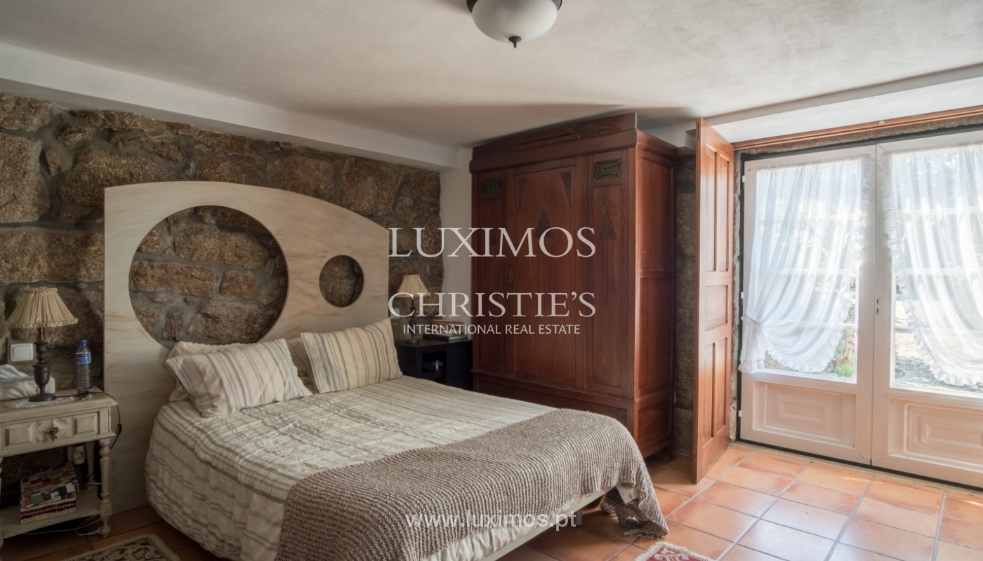 Sale of 18th century villa with garden and pool, Penafiel, Portugal_118438
