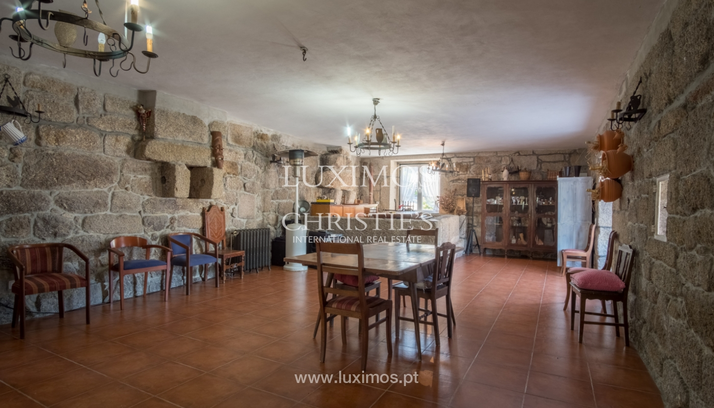 Sale of 18th century villa with garden and pool, Penafiel, Portugal_118442