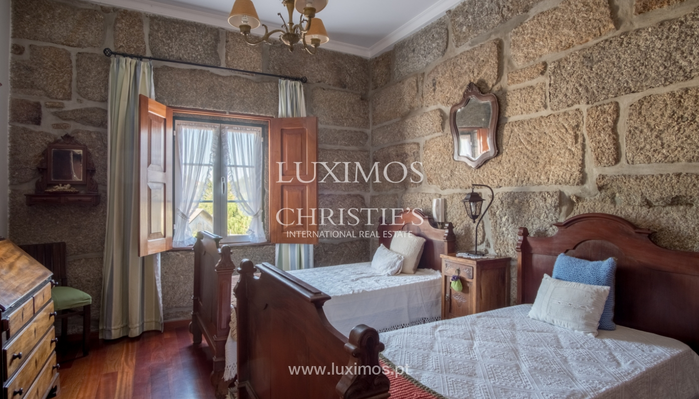 Sale of 18th century villa with garden and pool, Penafiel, Portugal_118454