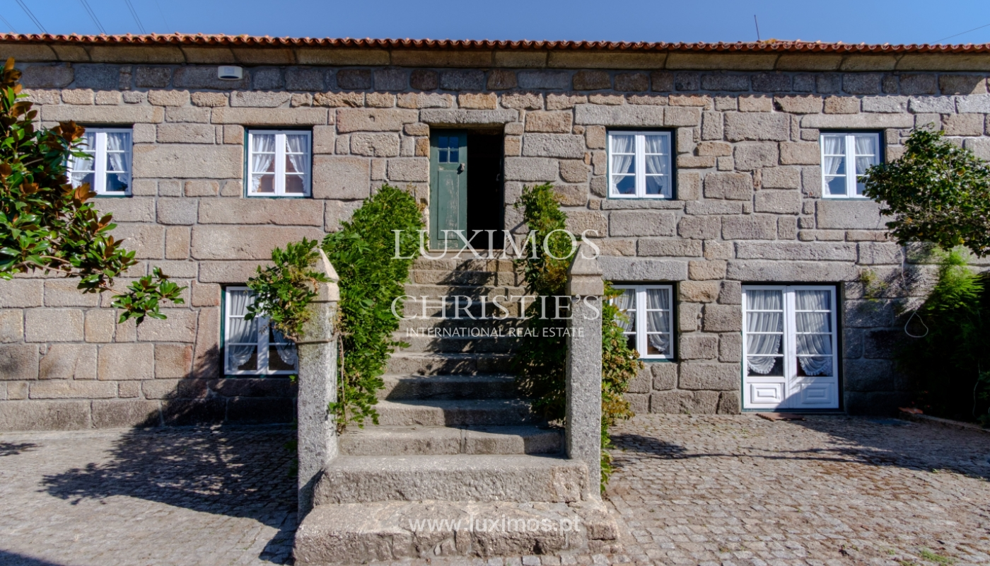 Sale of 18th century villa with garden and pool, Penafiel, Portugal_118455