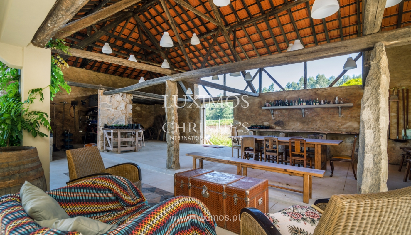 Sale of country house with large outdoor area, Ovar, Portugal_118492