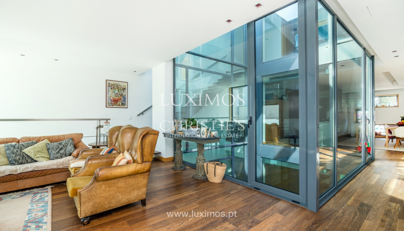 Modern villa for sale, with swimming pool, Foz do Douro, Portugal_119105