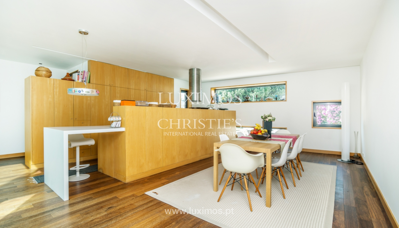 Modern villa for sale, with swimming pool, Foz do Douro, Portugal_119106