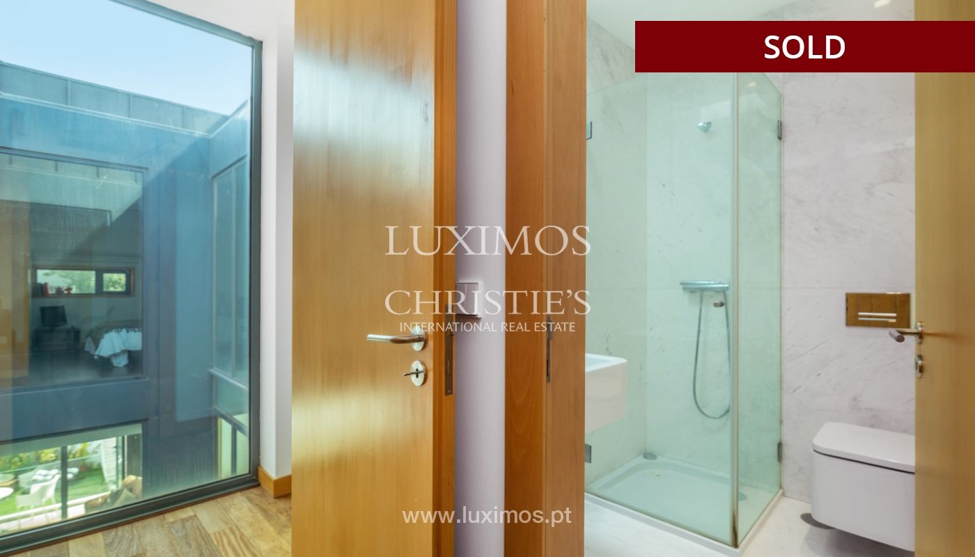Modern villa for sale, with swimming pool, Foz do Douro, Portugal_119109