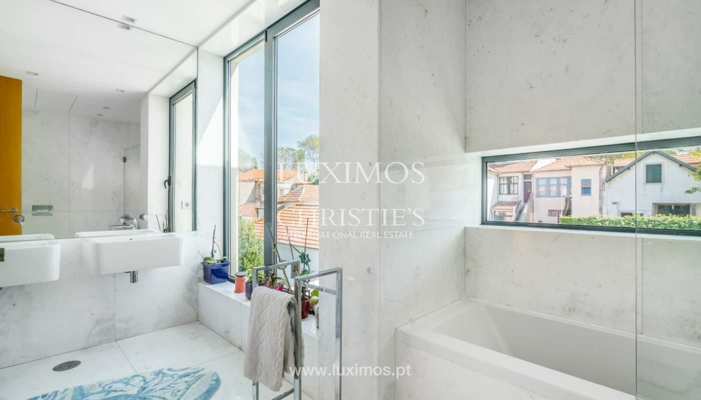 Modern villa for sale, with swimming pool, Foz do Douro, Portugal_119115