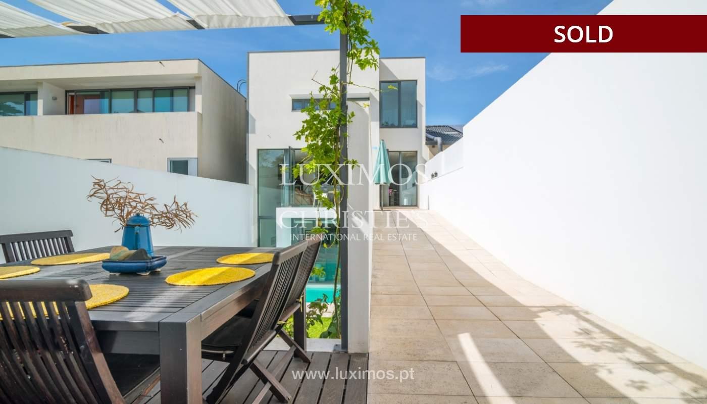 Modern villa for sale, with swimming pool, Foz do Douro, Portugal_119118