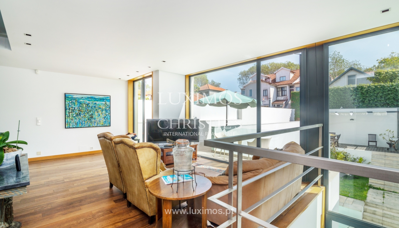 Modern villa for sale, with swimming pool, Foz do Douro, Portugal_119119