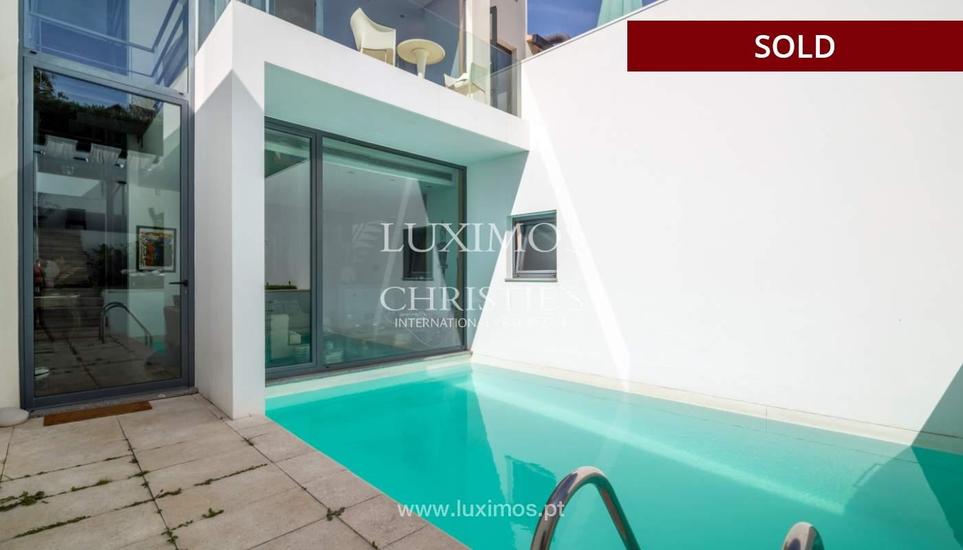 Modern villa for sale, with swimming pool, Foz do Douro, Portugal_119120