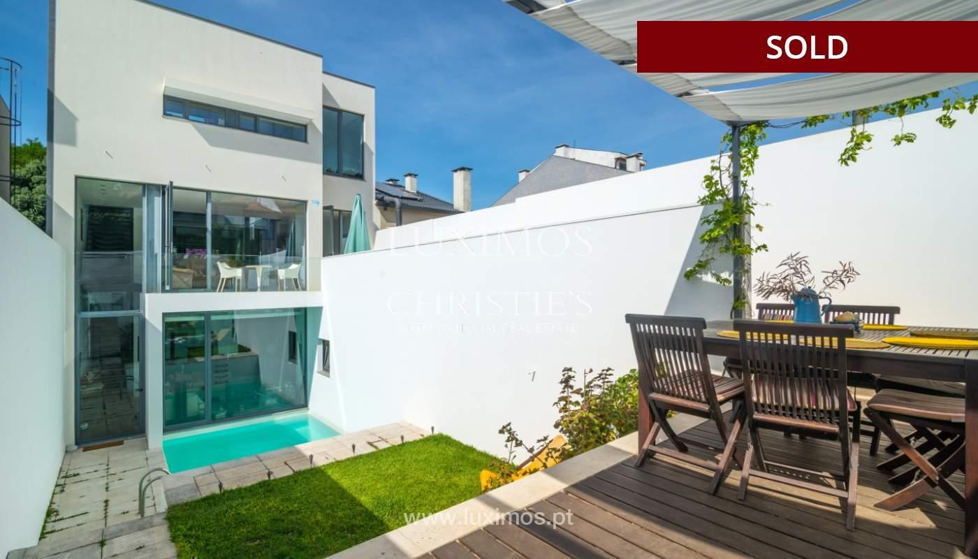 Modern villa for sale, with swimming pool, Foz do Douro, Portugal_119121
