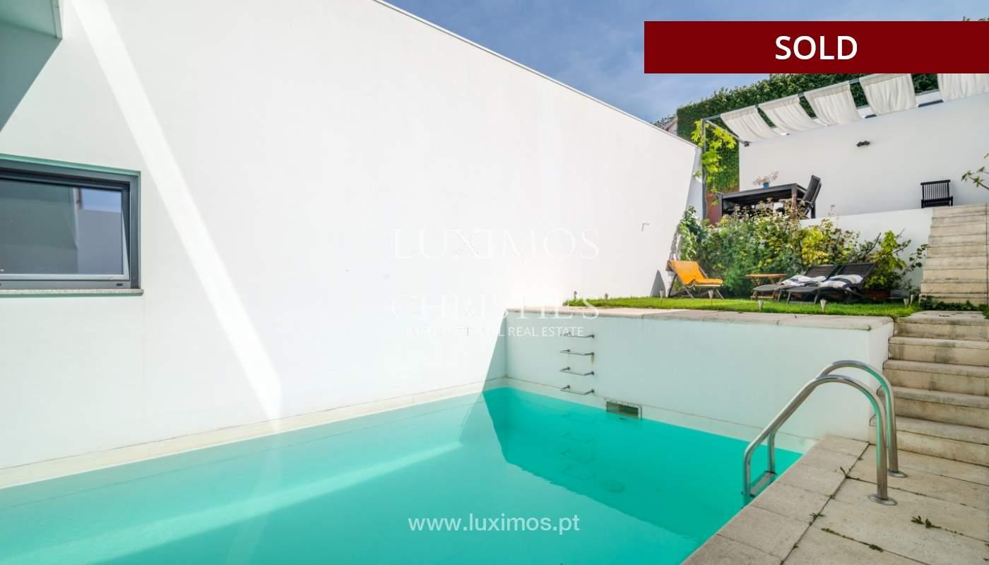 Modern villa for sale, with swimming pool, Foz do Douro, Portugal_119122