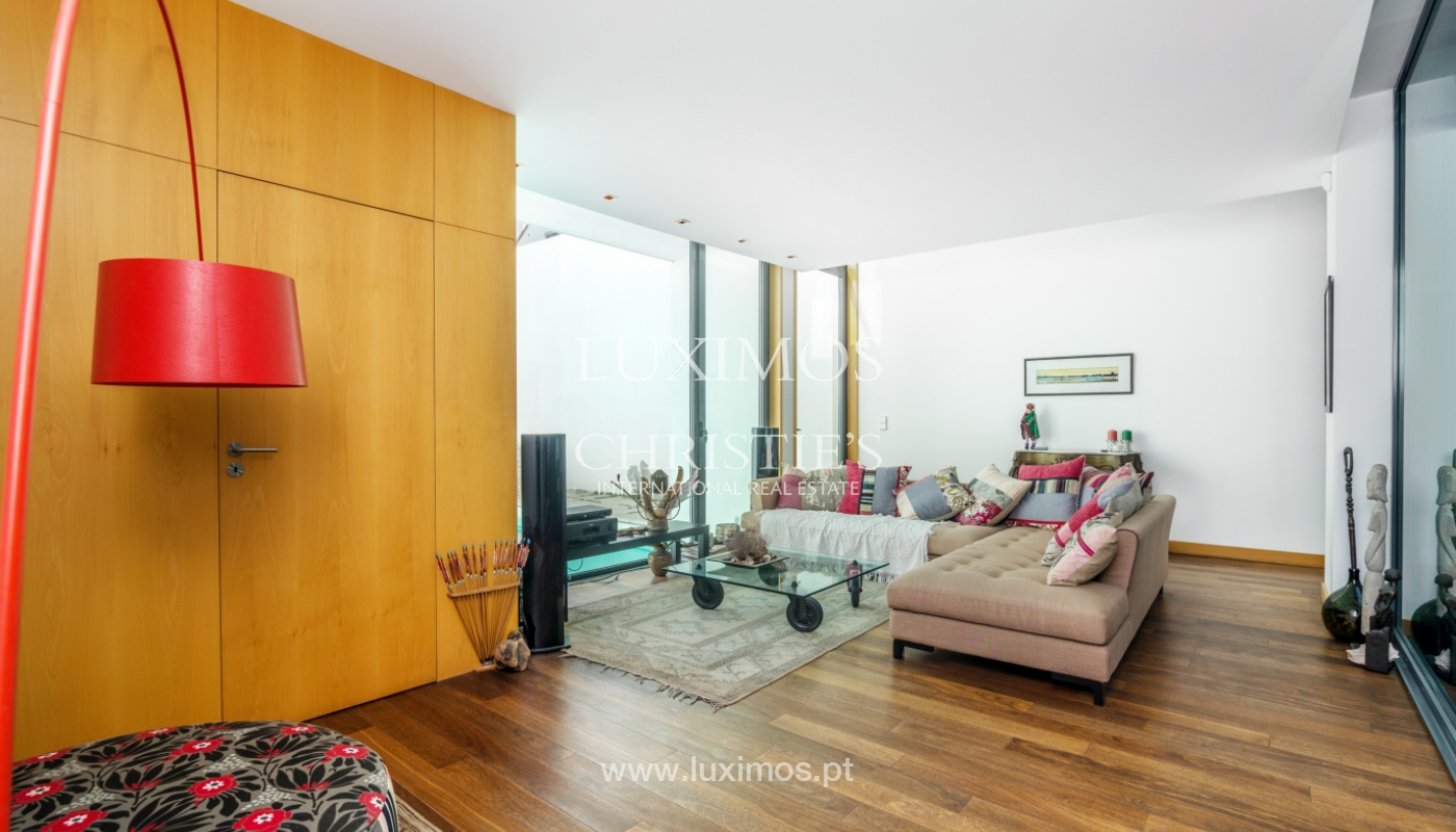 Modern villa for sale, with swimming pool, Foz do Douro, Portugal_119125