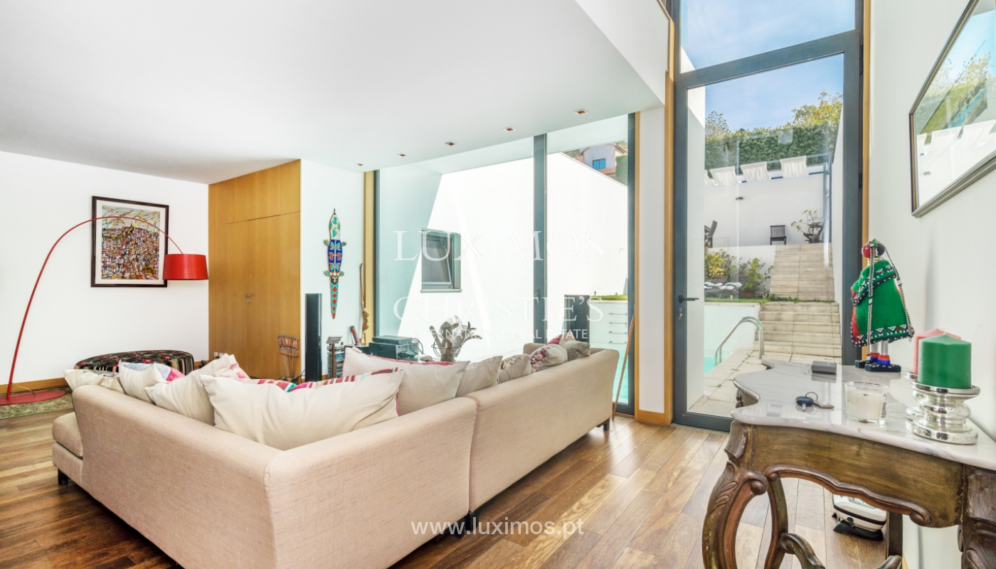 Modern villa for sale, with swimming pool, Foz do Douro, Portugal_119126