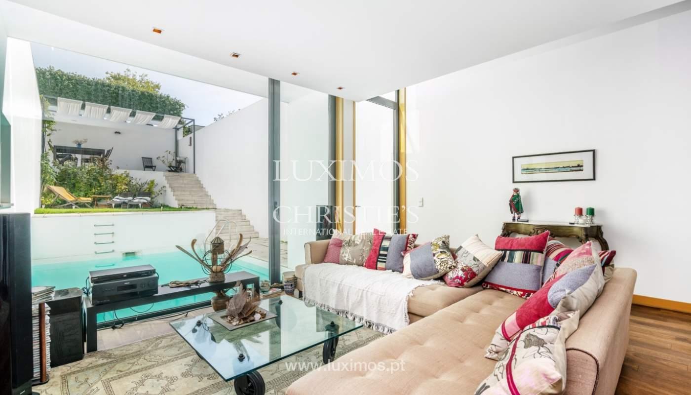 Modern villa for sale, with swimming pool, Foz do Douro, Portugal_119127